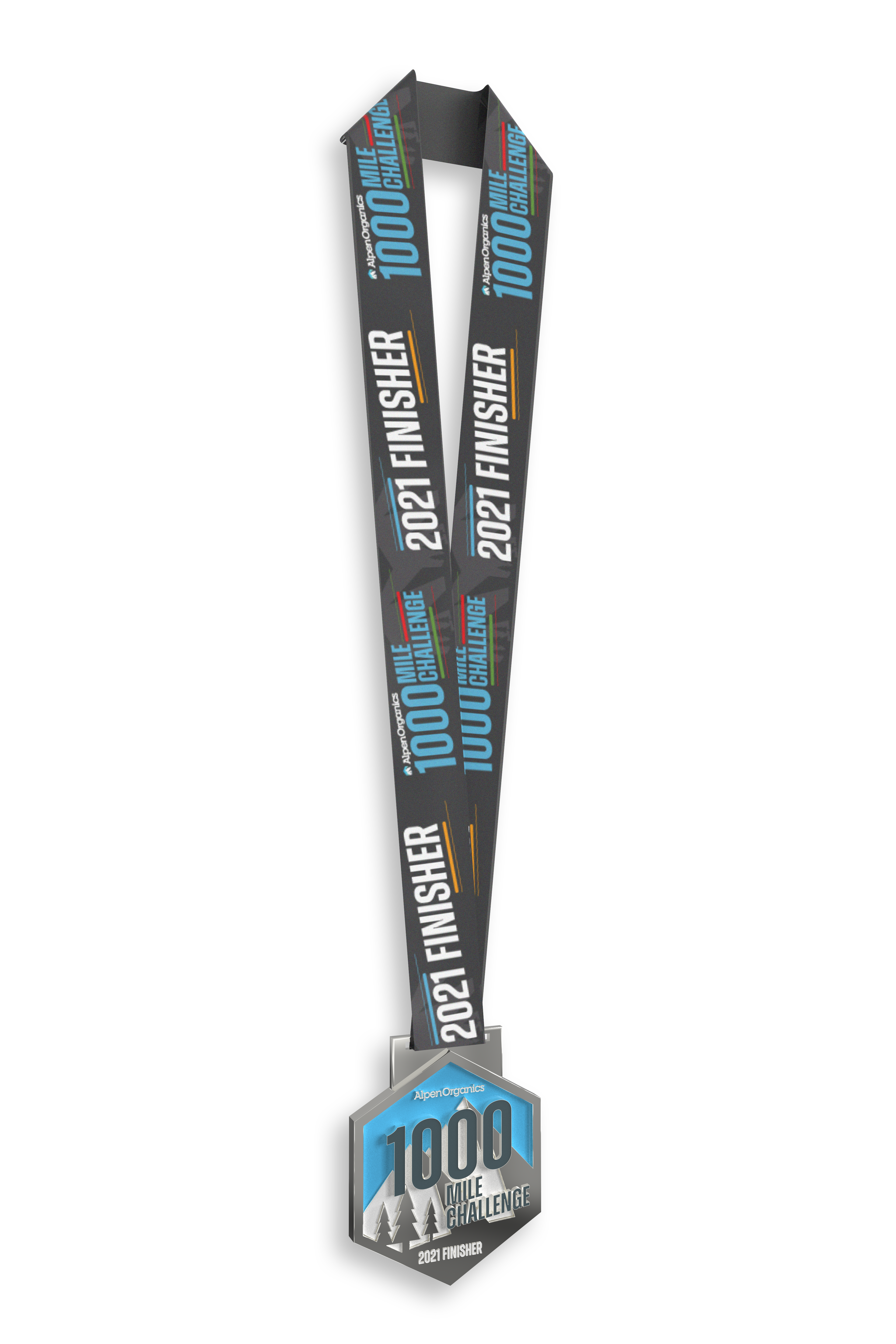 Alpen 1000 Finishers Medal