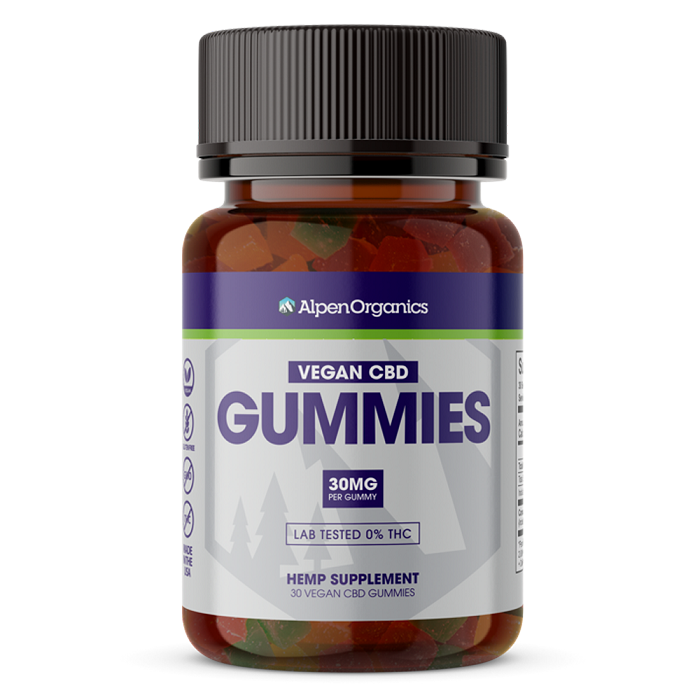 900mg CBD Isolate Gummies (Vegan)